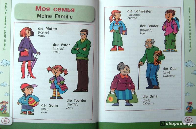 учим немецкий в картинках каждого есть возможность