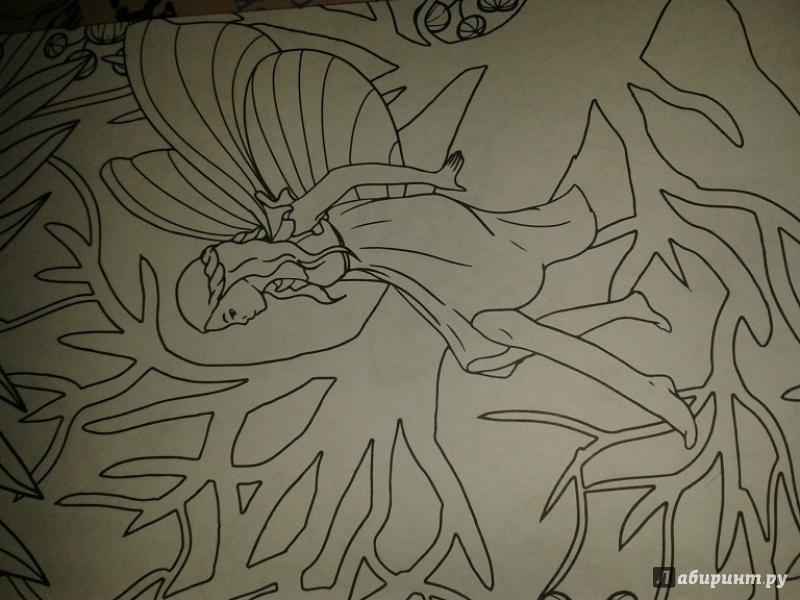Иллюстрация 26 из 59 для Лесные феи. Мини-раскраска ...