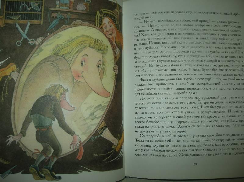 Иллюстрация 23 из 35 для Сказки - Вильгельм Гауф | Лабиринт - книги. Источник: Мартынова  Анна Владимировна