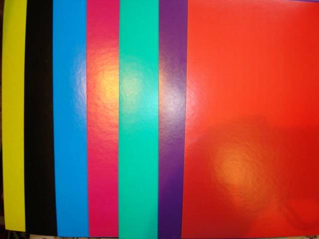 Иллюстрация 1 из 6 для Цветной мелованный картон. 7 листов 7 цветов (ЦКМ1755) | Лабиринт - канцтовы. Источник: Алёнушка-Аленка