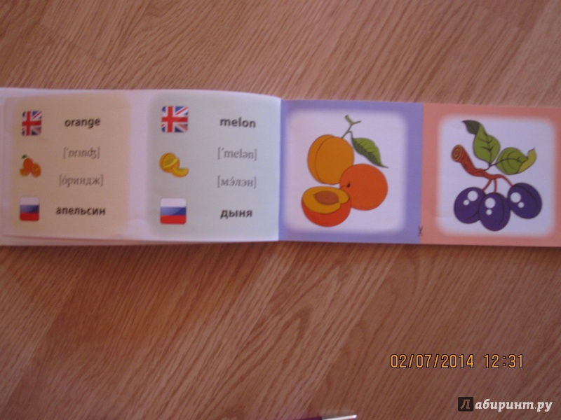 Иллюстрация 8 из 16 для Овощи. Фрукты. Коллекция карточек - Лариса Зиновьева   Лабиринт - книги. Источник: Русских  Юлия