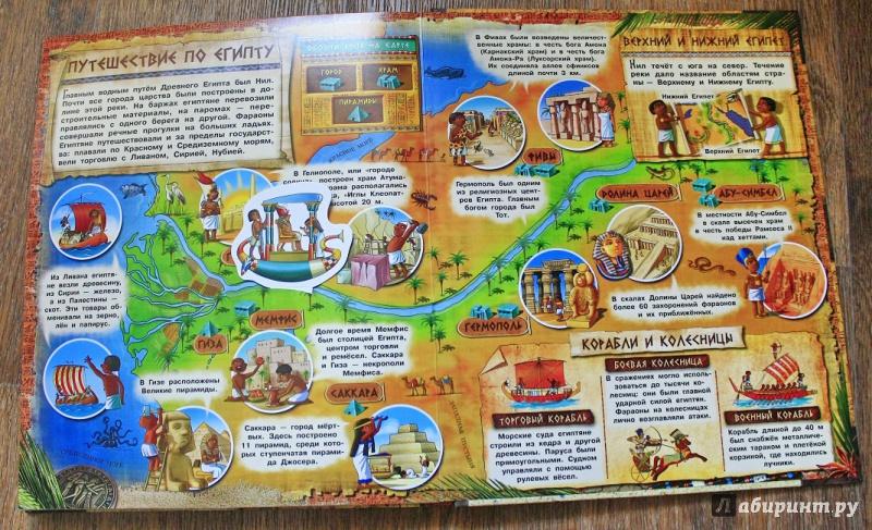 Иллюстрация 33 из 71 для Загадочный мир прошлого. Фараоны   Лабиринт - книги. Источник: Ассол