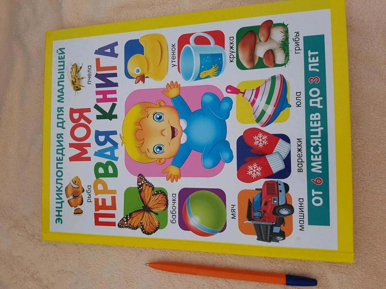 Иллюстрация 2 из 37 для Моя первая книга. Энциклопедия для малышей от 6 месяцев - Тамара Скиба   Лабиринт - книги. Источник: Лабиринт