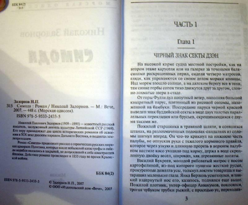 Иллюстрация 1 из 3 для Симода: Роман - Николай Задорнов | Лабиринт - книги. Источник: Мефи