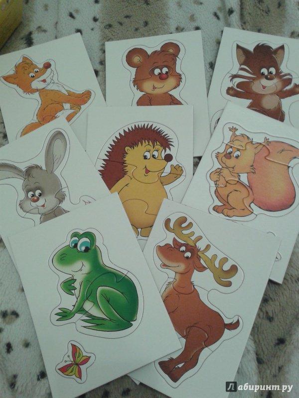 Иллюстрация 16 из 29 для Лесные животные. Для самых маленьких | Лабиринт - игрушки. Источник: Макаренко  Мария