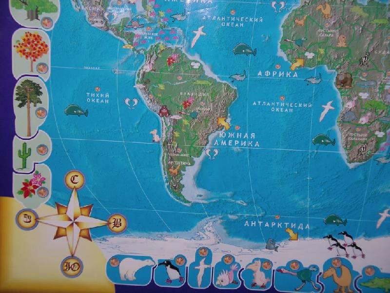 Иллюстрация 15 из 17 для Говорящая карта мира (6249) | Лабиринт - игрушки. Источник: Мариста
