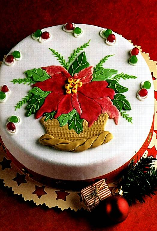 новогодние торты в форме открытки нужно дождаться