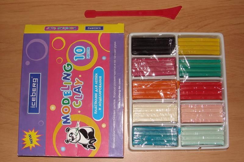 Иллюстрация 1 из 3 для Набор пластилина 10 цветов в картонной упаковке (АЕ-100) | Лабиринт - игрушки. Источник: Machaon