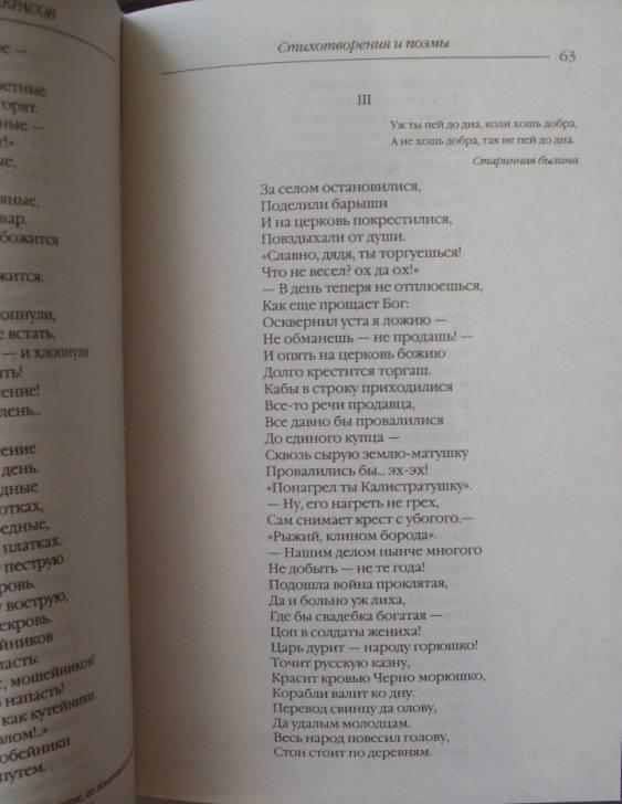 Иллюстрация 21 из 22 для Стихотворения и поэмы. Кому на Руси жить хорошо - Николай Некрасов | Лабиринт - книги. Источник: Кукина  Мария