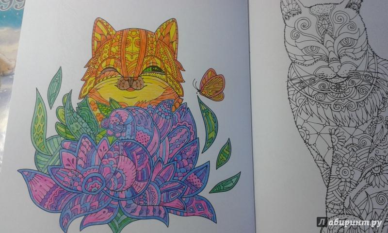 Иллюстрация 5 из 23 для Cats. Творческая раскраска ...