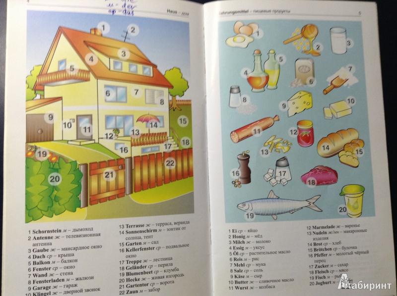 Немецкий язык в картинках 500 самых употребительных слов на каждый день, возьми меня