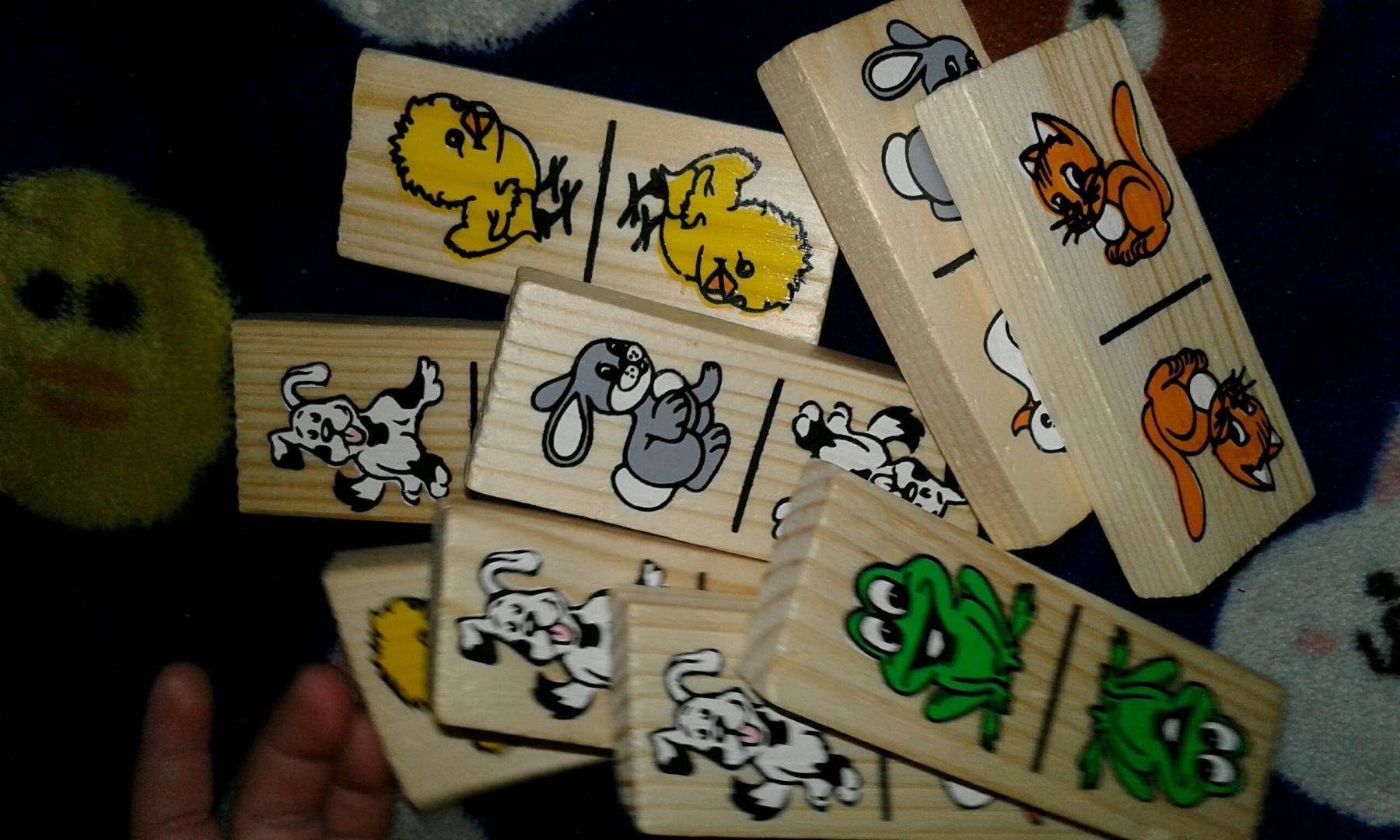 """Иллюстрация 26 из 29 для Домино """"Животные"""" (5555-1)   Лабиринт - игрушки. Источник: Юшина  Надежда"""