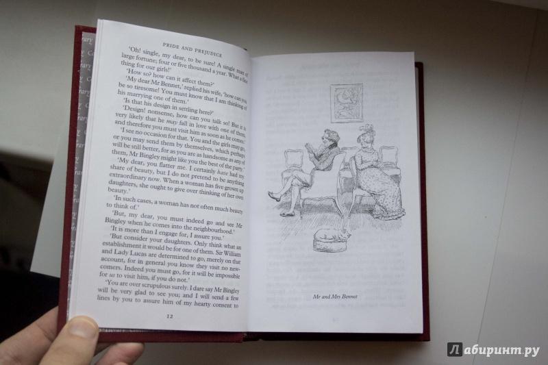 Иллюстрация 10 из 13 для Pride and Prejudice - Jane Austen   Лабиринт - книги. Источник: Кутукова  Галина