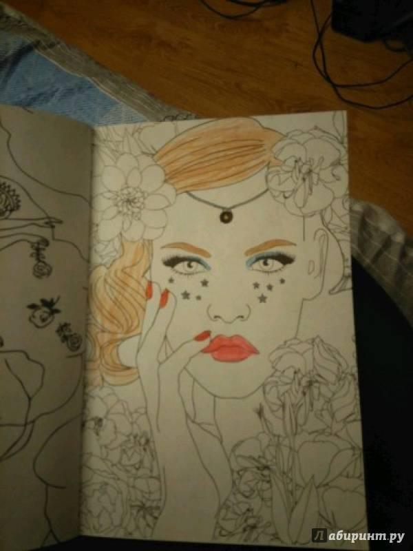 Иллюстрация 52 из 72 для Лесные феи. Мини-раскраска ...
