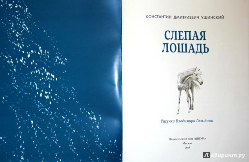 Иллюстрация 4 из 24 для Слепая лошадь - Константин Ушинский | Лабиринт - книги. Источник: Mila