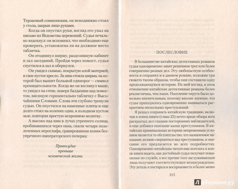 картинка послесловие книги представлена синяя гамма