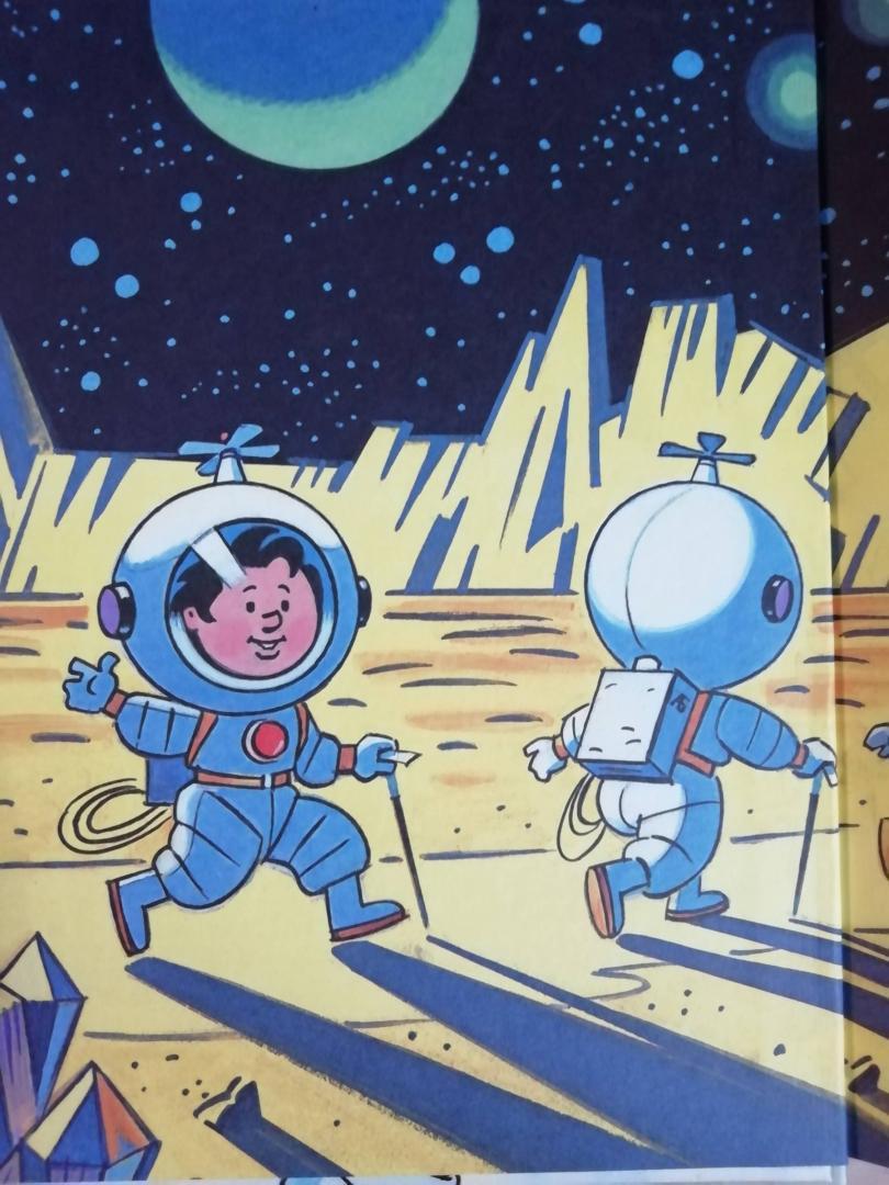 Картинки незнайка на луне из книги