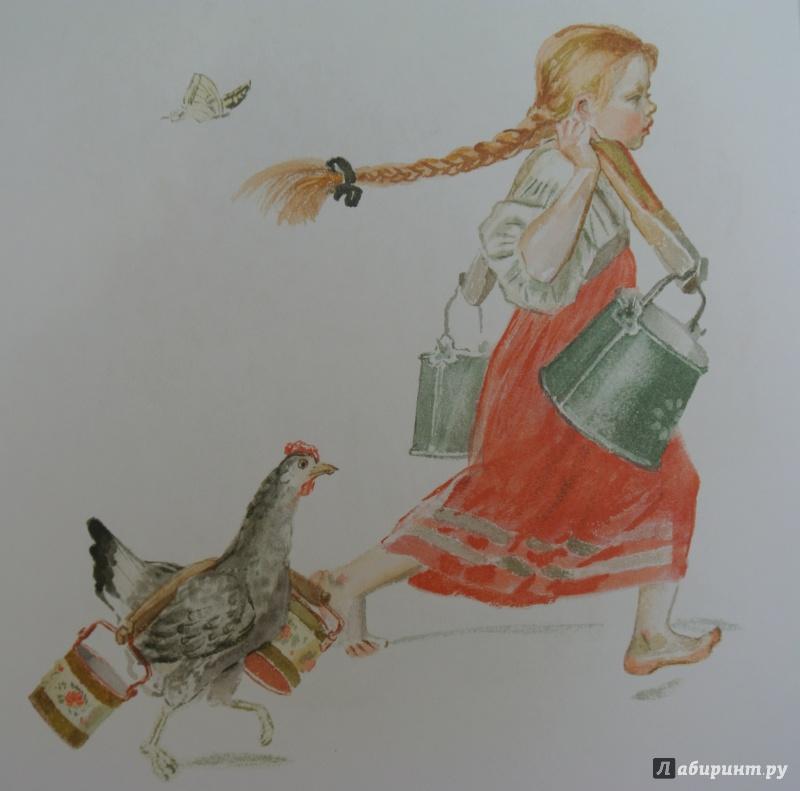 Иллюстрация 21 из 28 для Бабушка, внучка да курочка   Лабиринт - книги. Источник: adsveta