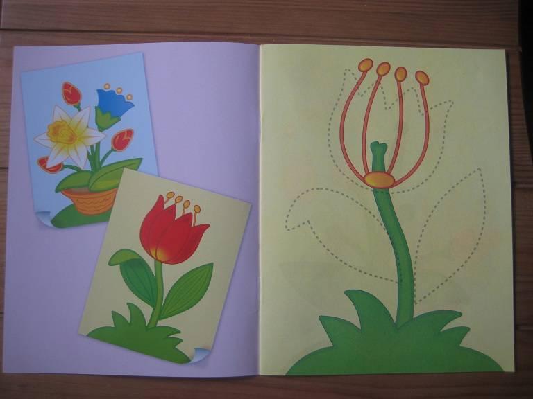 Аппликация открытка для бабушки в подготовительной группе