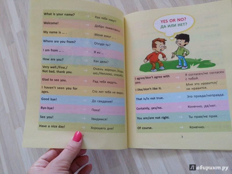 Иллюстрация 4 из 18 для Разговорные шаблоны английского языка. 2-4 классы - Марина Селиванова | Лабиринт - книги. Источник: TATARU  RADU
