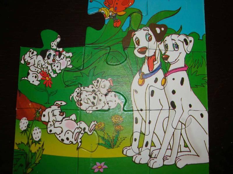 Иллюстрация 1 из 3 для Maxi Puzzle. 9 элементов. Далматинцы (036)   Лабиринт - игрушки. Источник: Ogha