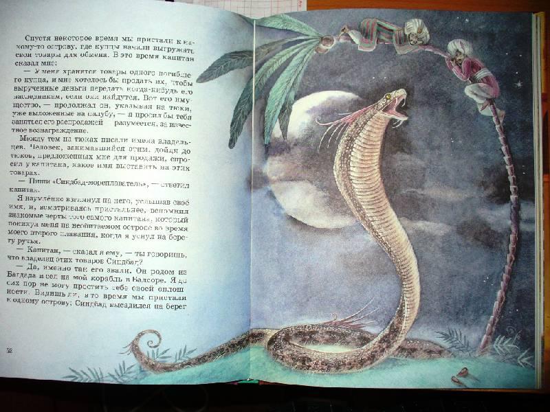Иллюстрация 21 из 25 для Все путешествия Синдбада   Лабиринт - книги. Источник: Julykum