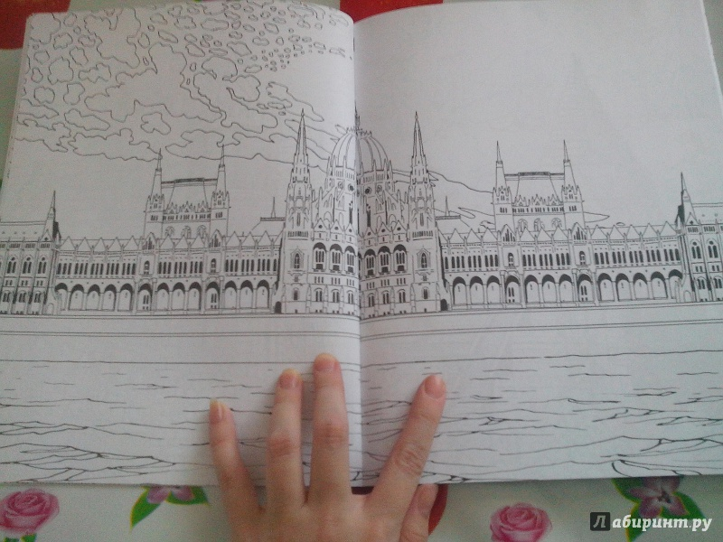 иллюстрация 14 из 46 для кругосветное путешествие раскраска