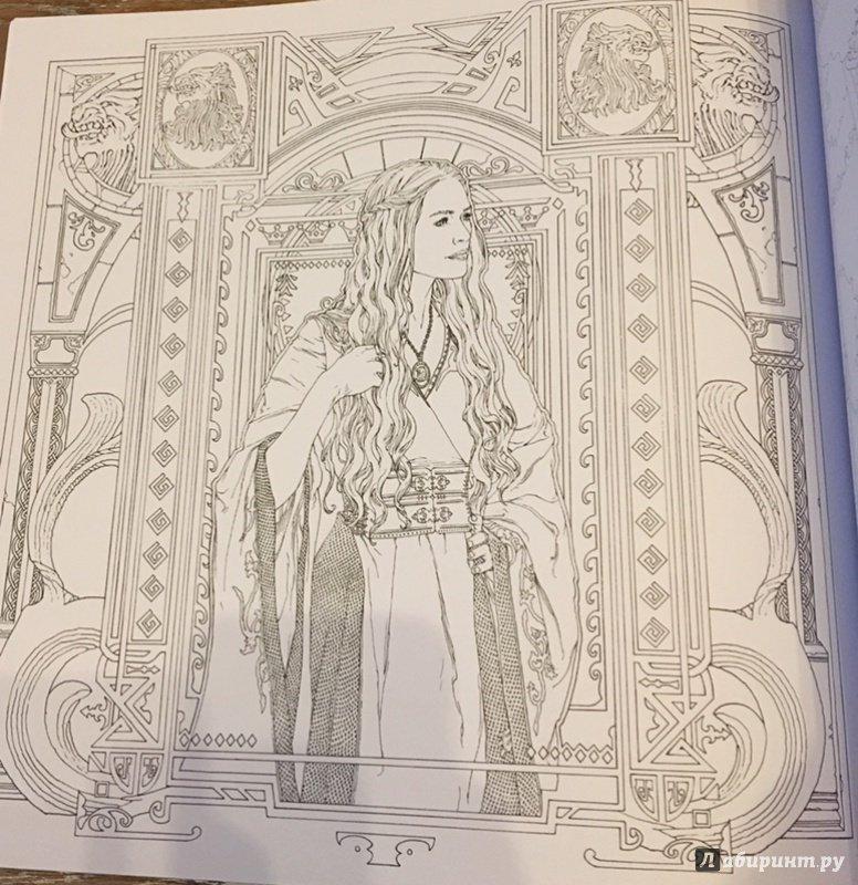 Иллюстрация 6 из 18 для Игра Престолов. Раскраска ...