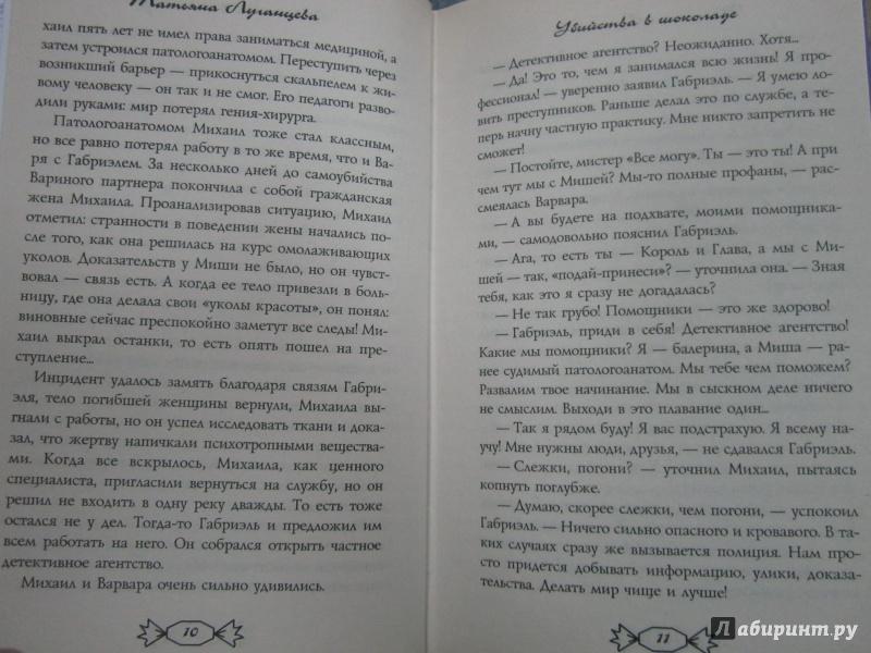Иллюстрация 6 из 6 для Убийства в шоколаде - Татьяна Луганцева | Лабиринт - книги. Источник: )  Катюша