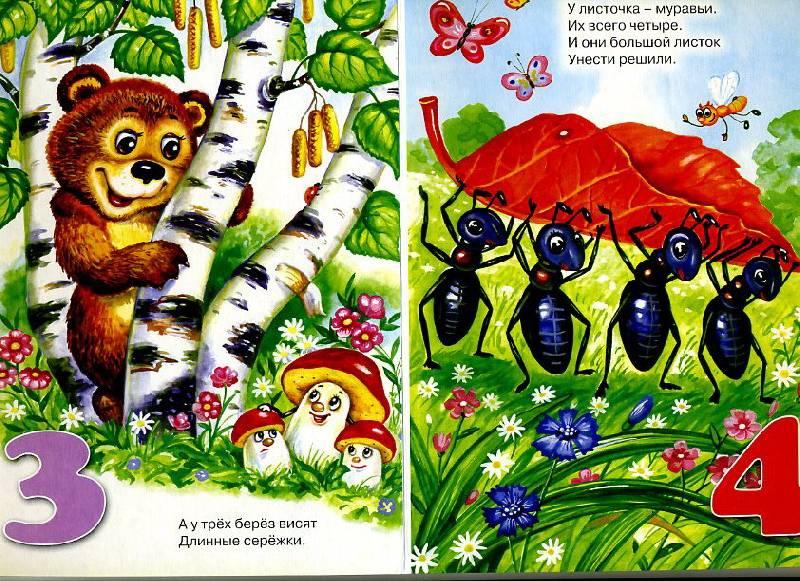 Иллюстрация 1 из 5 для Картонка: Лесная считалочка - Наталья Мигунова   Лабиринт - книги. Источник: Machaon