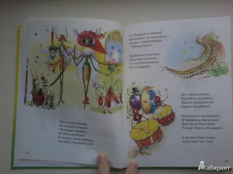 Иллюстрация 6 из 33 для Муха-Цокотуха - Корней Чуковский | Лабиринт - книги. Источник: Данилка