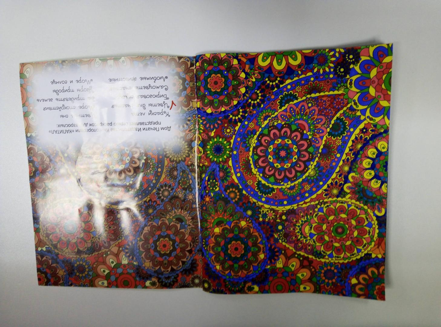Иллюстрация 26 из 26 для Цветы для счастья. Раскраска для ...