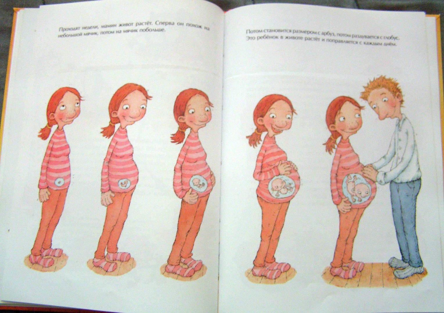 рассказываем картинки как появляются на свет малыши помощью удобно