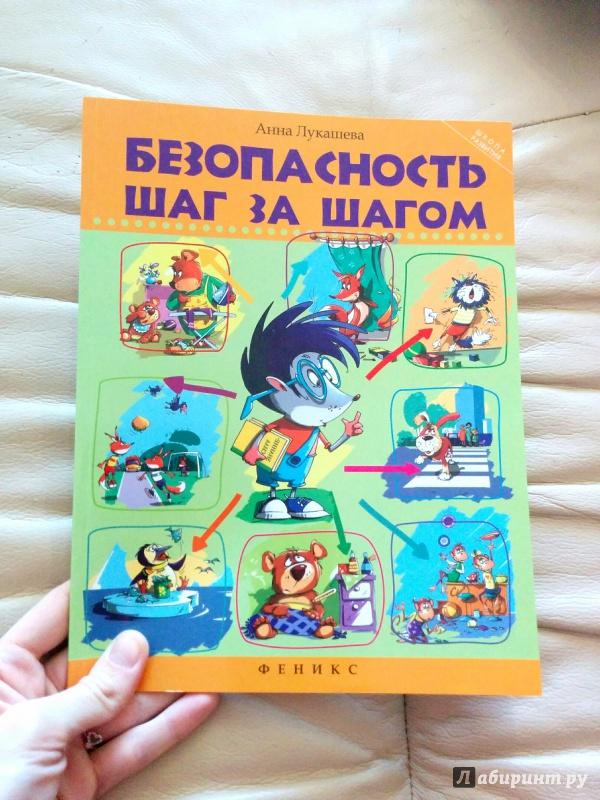 Иллюстрация 22 из 34 для Безопасность шаг за шагом - Анна Лукашева   Лабиринт - книги. Источник: Яровая  Ирина