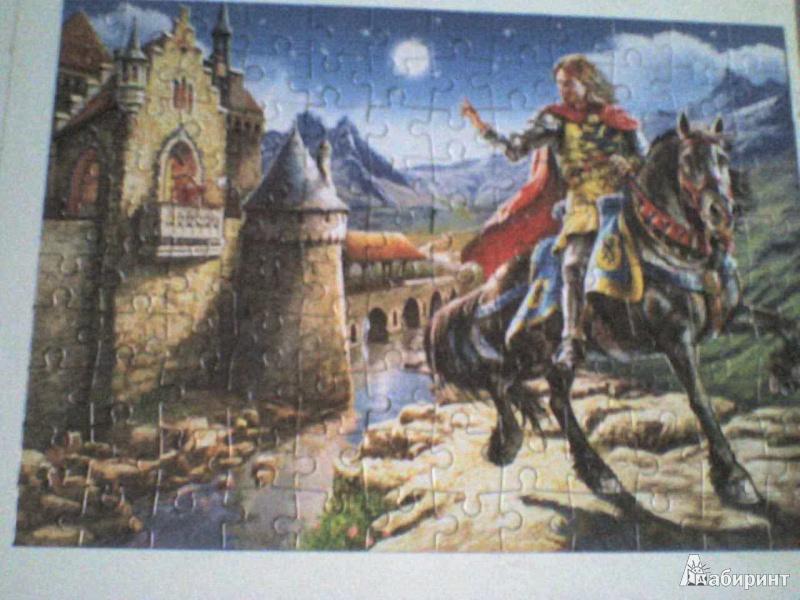 """Иллюстрация 1 из 5 для Puzzle-120 MIDI """"Рыцарь и принцесса"""" (В-12701)   Лабиринт - игрушки. Источник: Роза с шипами"""