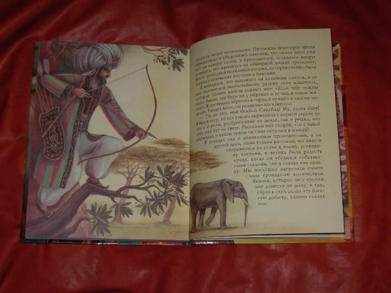 Иллюстрация 9 из 25 для Все путешествия Синдбада   Лабиринт - книги. Источник: ---Марго----