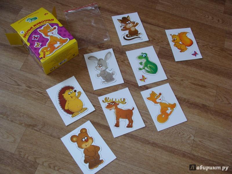 Иллюстрация 7 из 29 для Лесные животные. Для самых маленьких | Лабиринт - игрушки. Источник: Татьяна Иванникова