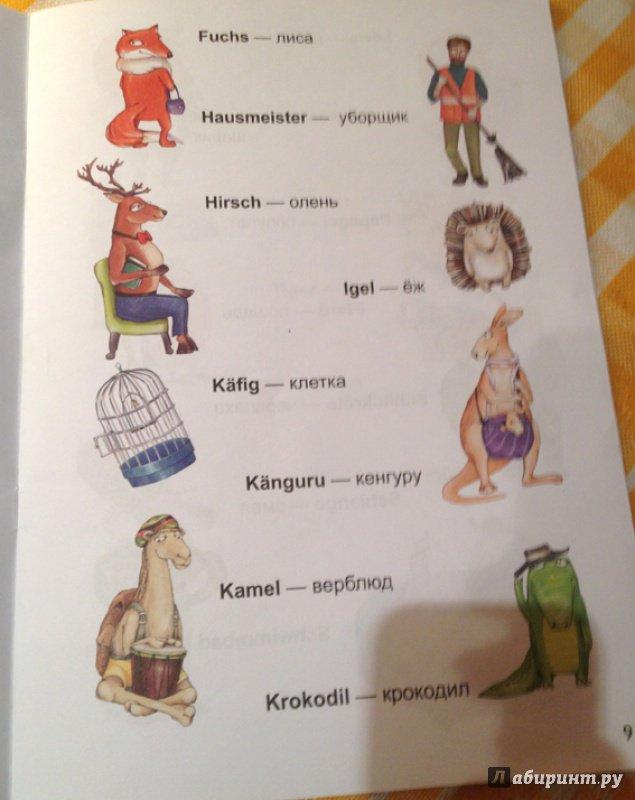 Иллюстрация 12 из 14 для Учим немецкие слова вместе с детьми: зоопарк - Каролина Малышенко | Лабиринт - книги. Источник: Милкина радость