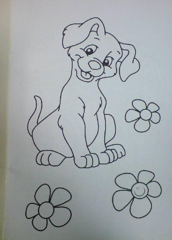 Иллюстрация 7 из 29 для Веселые раскраски (красная ...