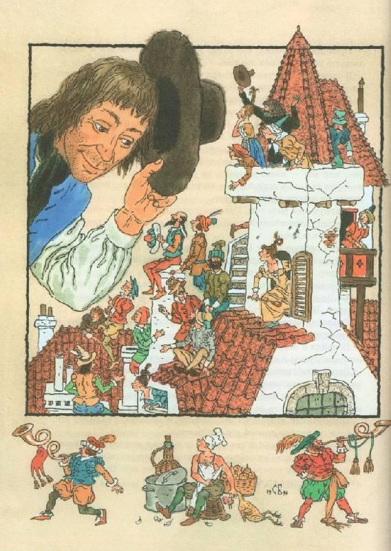 иллюстрации к гулливеру в стране его