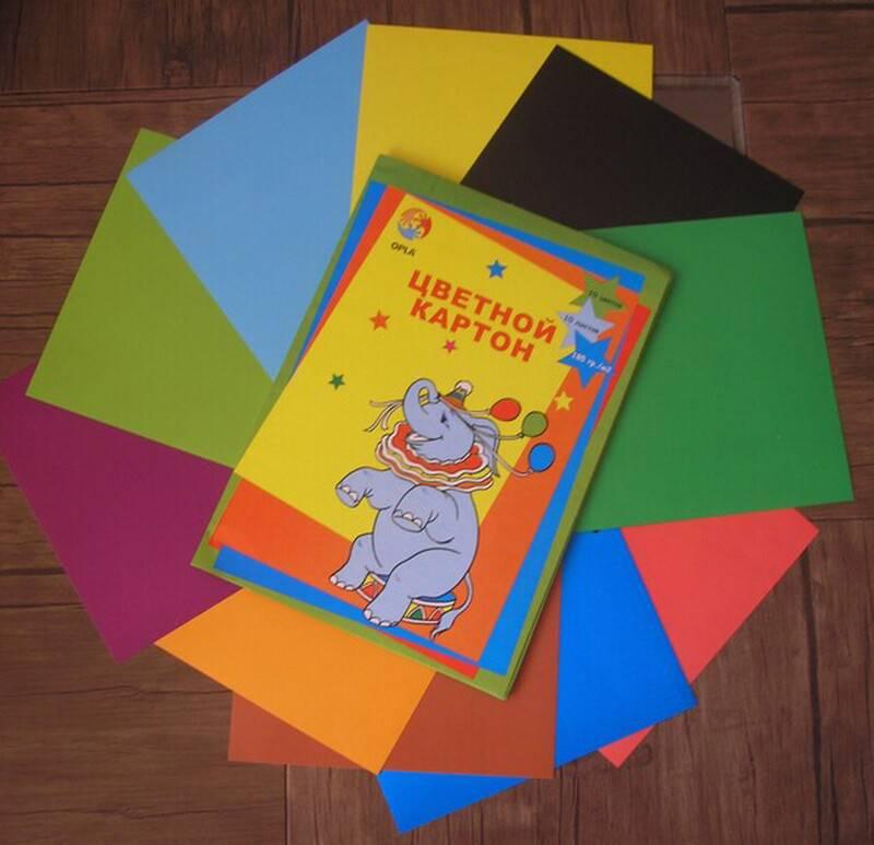 Иллюстрация 1 из 2 для Картон цветной 10 листов 10 цветов (ЦК-001) | Лабиринт - канцтовы. Источник: Поклонцева Юлия Сергеевна