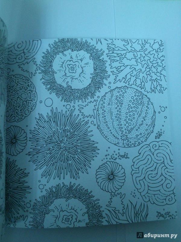 Иллюстрация 7 из 18 для Моретерапия. Раскраска-антистресс ...