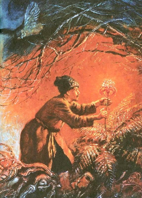 Иллюстрация 64 из 94 для Вечера на хуторе близ Диканьки - Николай Гоголь | Лабиринт - книги. Источник: Zhanna