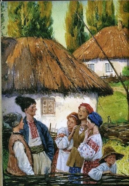 Иллюстрация 29 из 94 для Вечера на хуторе близ Диканьки - Николай Гоголь   Лабиринт - книги. Источник: Гостья