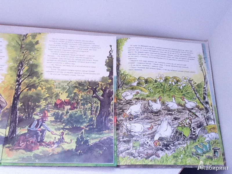 Иллюстрация 39 из 57 для Переполох в огороде - Свен Нурдквист | Лабиринт - книги. Источник: Анастасия Сидоренко