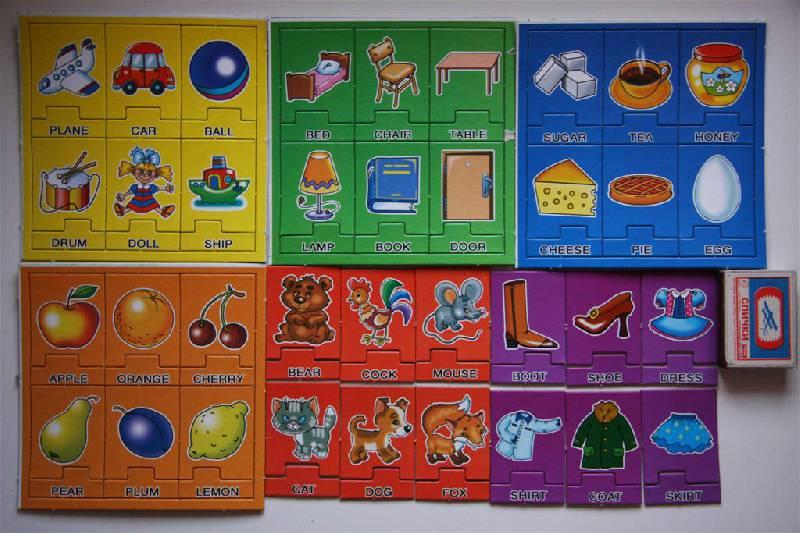 Иллюстрация 4 из 4 для Мои первые английские слова №1 - С.Х. Гомза | Лабиринт - игрушки. Источник: Скорпион
