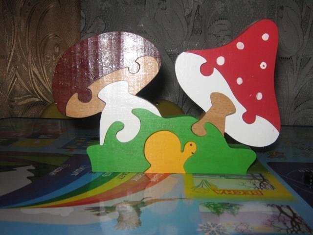 Иллюстрация 1 из 6 для Грибы (Д-114) | Лабиринт - игрушки. Источник: Петрова  Виктория Викторовна