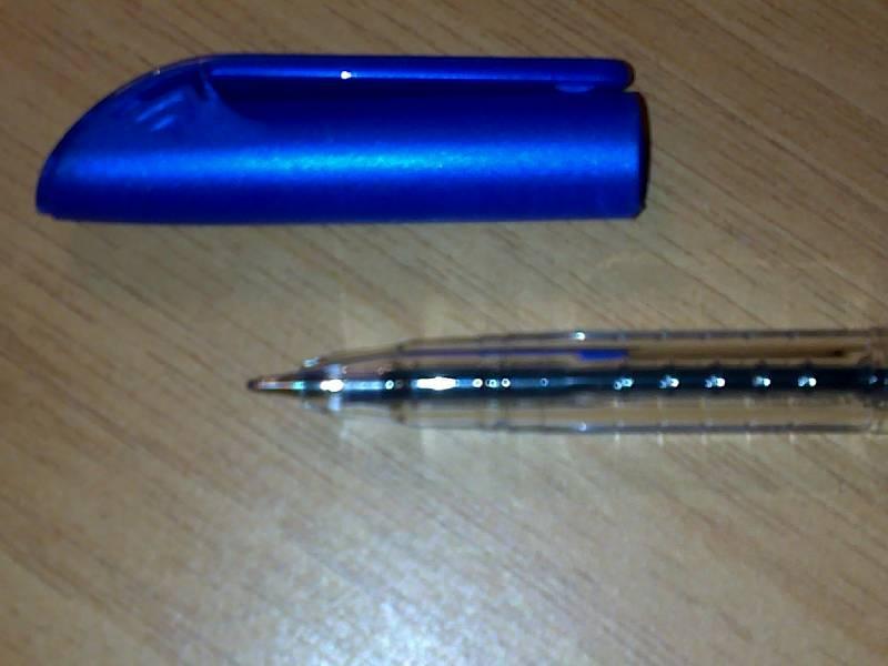 Иллюстрация 1 из 6 для Ручка шариковая SMS синяя (F-834)   Лабиринт - канцтовы. Источник: К  Оксаночка И