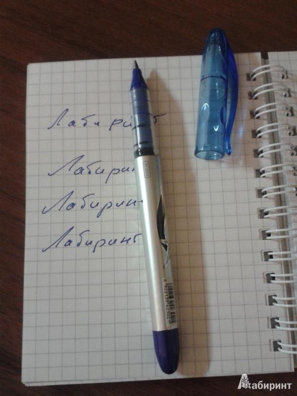 Иллюстрация 1 из 8 для Ручка роллер Lantu SHARK (синяя) | Лабиринт - канцтовы. Источник: Anita1