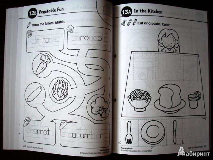 Иллюстрация 12 из 14 для Longman Young Children's Picture Dictionary. Activity Resource Book | Лабиринт - книги. Источник: Данькин
